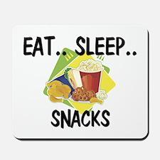 Eat ... Sleep ... SNACKS Mousepad