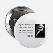 """Karl Marx 2 2.25"""" Button"""