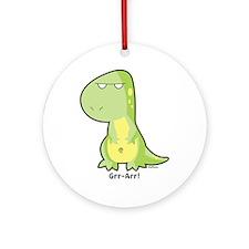 T-Rex Ornament (Round)