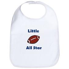 Little Football Allstar  Bib