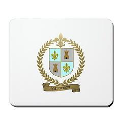d'ENTREMONT Family Crest Mousepad