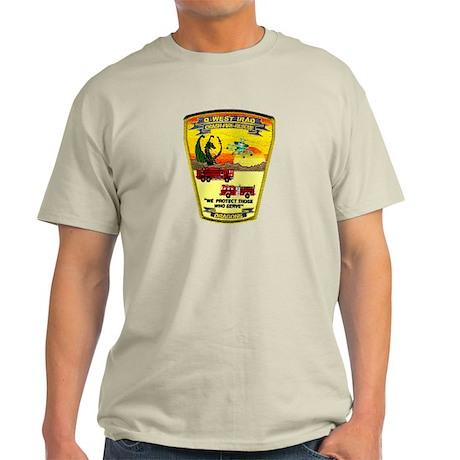Iraq Military Fire Dept Light T-Shirt