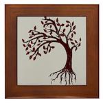 Autumn Wind Framed Tile