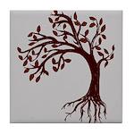 Autumn Wind Tile Coaster