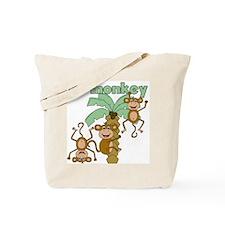 Lil Monkey Tote Bag