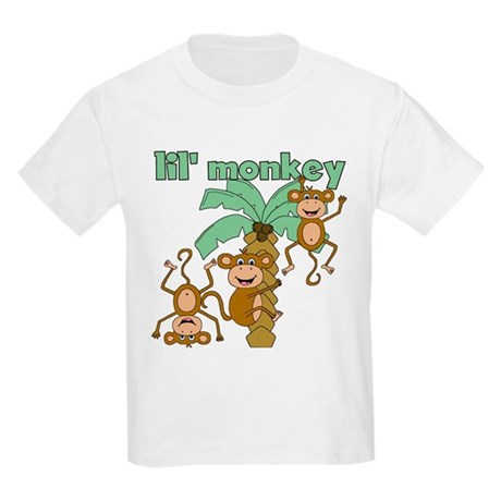 Lil Monkey Kids Light T-Shirt