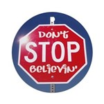DON'T STOP Ornament (Round)