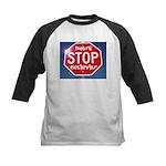 DON'T STOP Kids Baseball Jersey