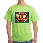 DON'T STOP Green T-Shirt