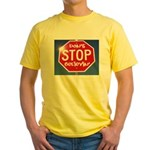 DON'T STOP Yellow T-Shirt