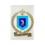 DESCHENES Family Crest Rectangle Magnet (10 pack)
