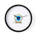 DESCHENES Family Crest Wall Clock