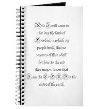 EXODUS 8:22 Journal