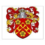 Moens Family Crest Small Poster