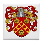 Moens Family Crest Tile Coaster