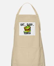 Eat ... Sleep ... SQUASH BBQ Apron