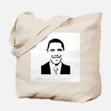 Barack Obama Portrait Tote Bag