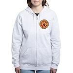 U S S Farragut Women's Zip Hoodie
