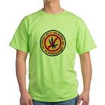 U S S Farragut Green T-Shirt