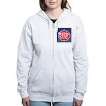 DON'T STOP BELIEVING Women's Zip Hoodie