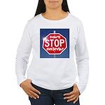 DON'T STOP BELIEVING Women's Long Sleeve T-Shirt
