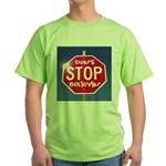 DON'T STOP BELIEVING Green T-Shirt