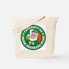 Property of the Irish Drinkin Tote Bag