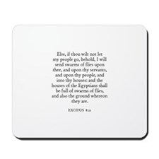 EXODUS  8:21 Mousepad