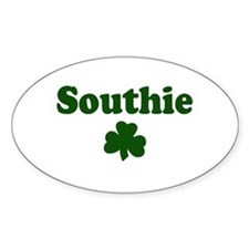 Southie Oval Decal