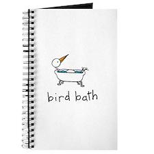 Bird Bath Journal