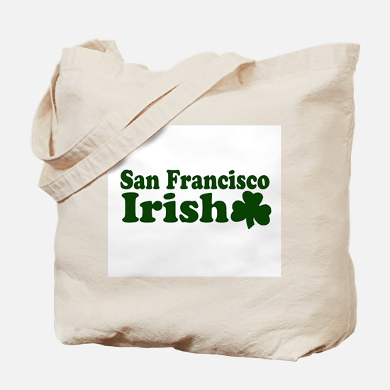 San Francisco Irish Tote Bag