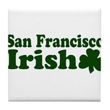 San Francisco Irish Tile Coaster