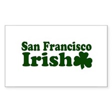 San Francisco Irish Rectangle Decal