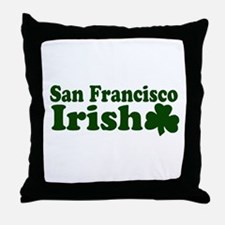 San Francisco Irish Throw Pillow