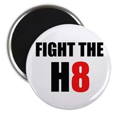 Prop 8 - Fight the H8 (hate) Magnet