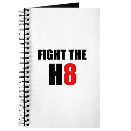 Prop 8 - Fight the H8 (hate) Journal