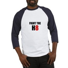 Prop 8 - Fight the H8 (hate) Baseball Jersey