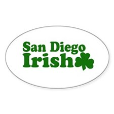 San Diego Irish Oval Decal
