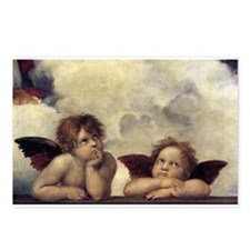 Raphael's Angels Postcards (Package of 8)