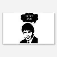 Rod Blagojevich - Bleep You Rectangle Decal