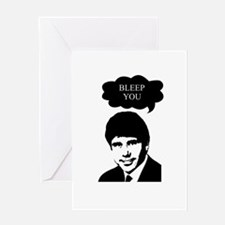 Rod Blagojevich - Bleep You Greeting Card