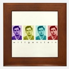 Wittgensteins (in Color) Framed Tile