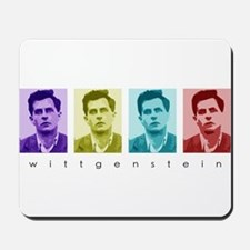 Wittgensteins (in Color) Mousepad