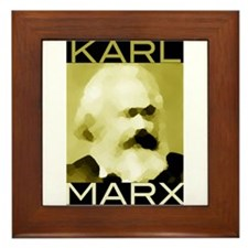 Karl Marx Framed Tile
