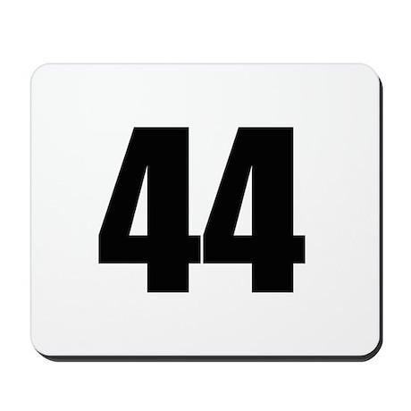 Barack Obama - 44 Mousepad