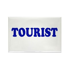 Tourist Rectangle Magnet (10 pack)