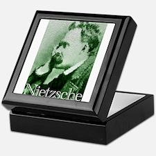 Green Nietzsche Keepsake Box