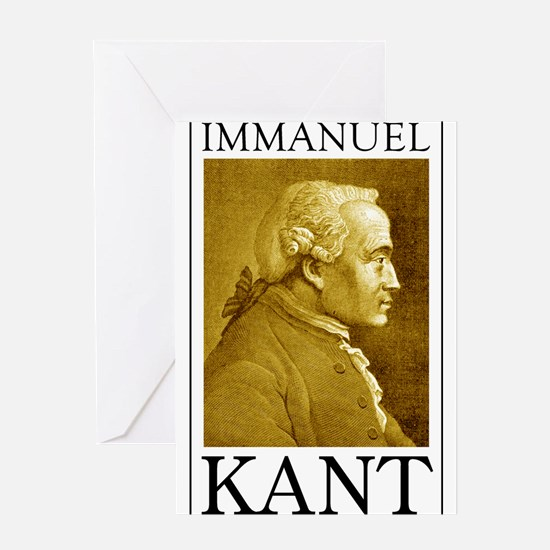Immanuel Kant Greeting Card