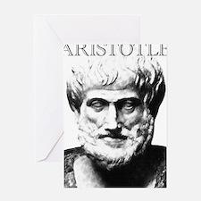 Aristotle Greeting Card