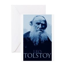 Leo Tolstoy Greeting Card